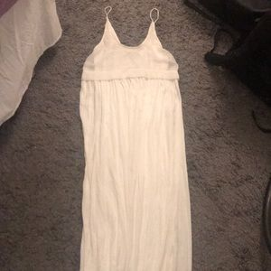 White Zara maxi dress